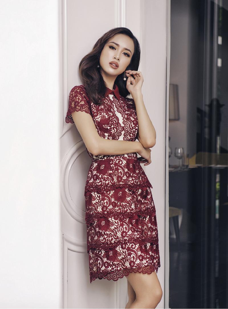 Vũ Ngọc Anh mặc thiết kế Lê Thanh Hòa - 02