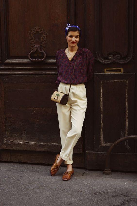 giày theo phong cách vintage