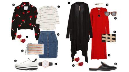 ELLE Style Calendar: Ấm áp với áo Cardigan (7/11-13/11)