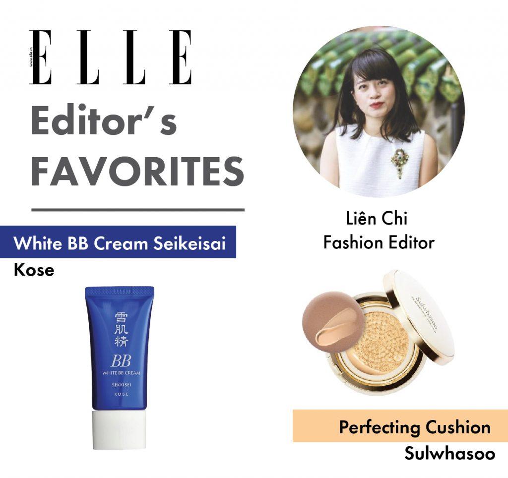 Những món đồ trang điểm của ban biên tập ELLE - ELLE VN