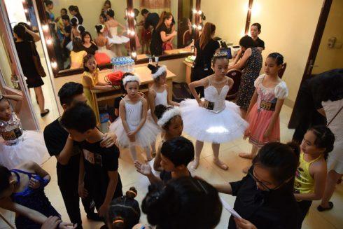 Cuộc thi Tuyển chọn diễn viên Ballet nhí đã thu hút được hàng trăm tài năng trẻ tuổi từ khắp mọi miền đất nước và cả ở nước ngoài tham gia tranh tài.