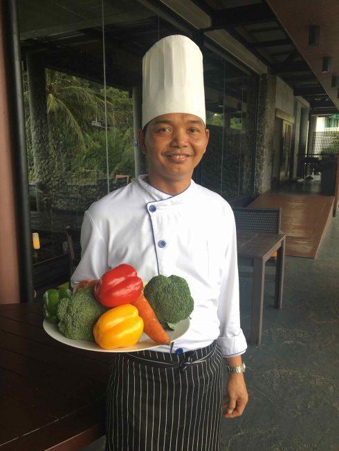 Đầu bếp khách mời đến từ Thái Lan sẽ trình diễn các món ăn đặc sắc tại tuần lễ ẩm thực.