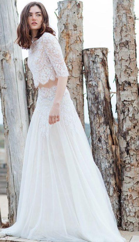 váy cưới đẹp của Costarellos