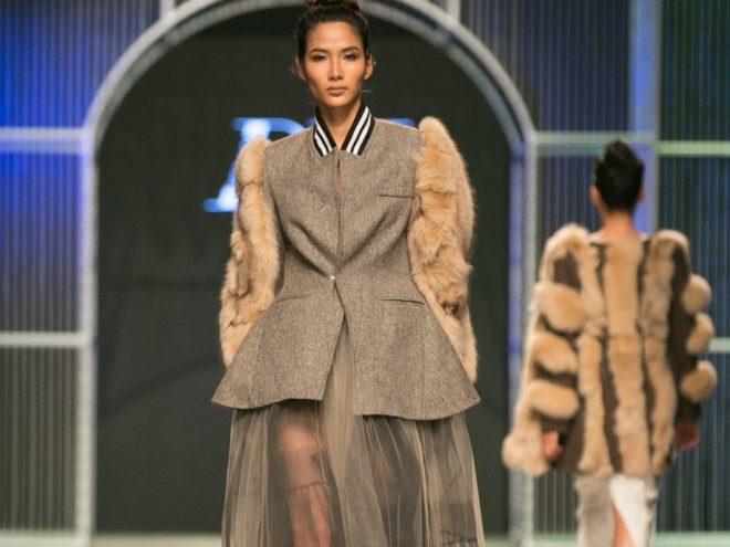 Devon Nguyen thổi hồn Việt vào chất liệu vải Huddersfield Cloth