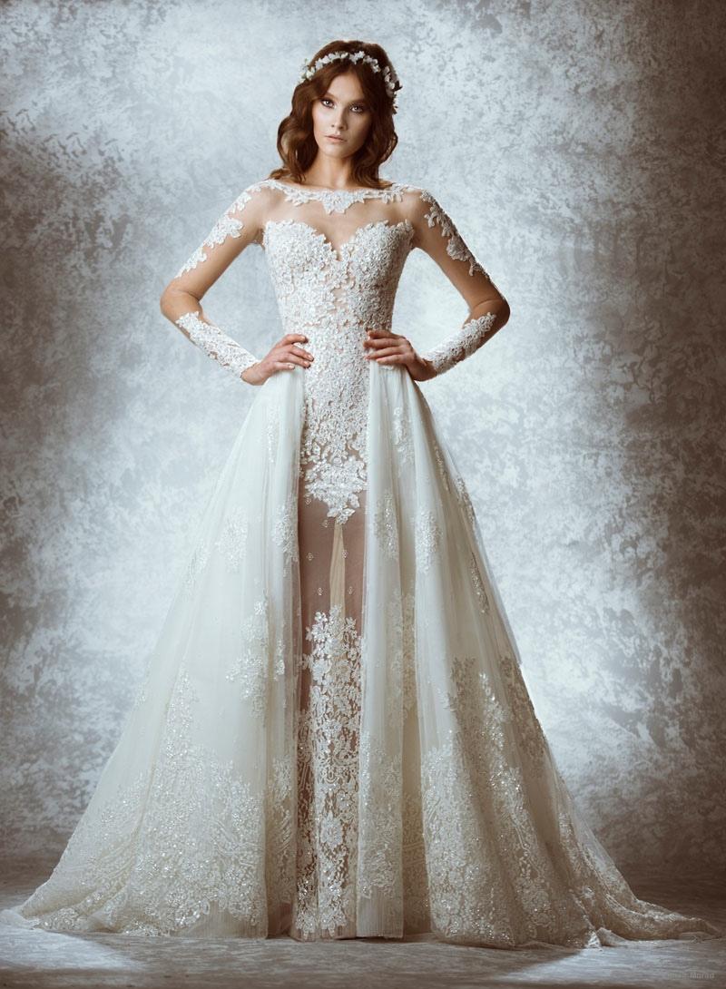 mẫu váy cưới cut out đẹp của Zuhair Murad
