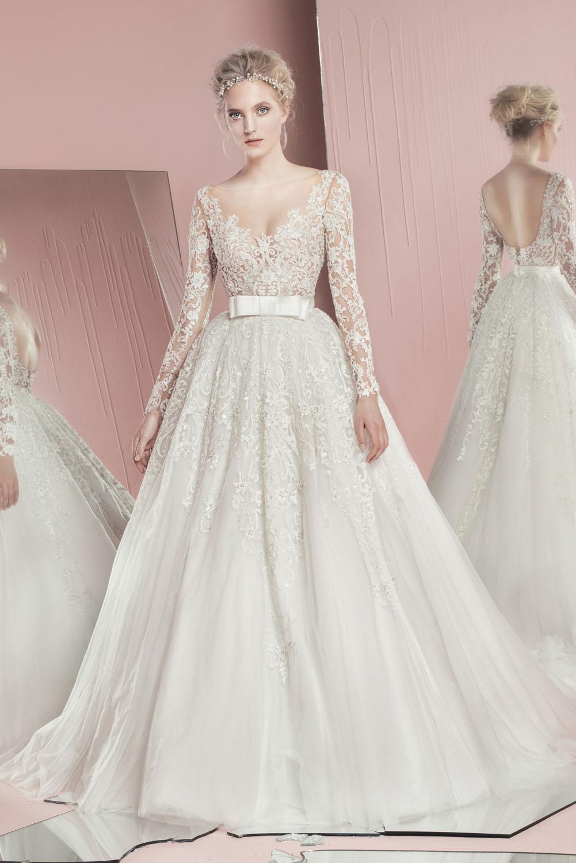 váy cưới đẹp đính nơ của Zuhair Murad