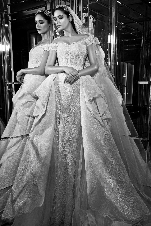 váy cưới đẹp trễ vai của Zuhair Murad