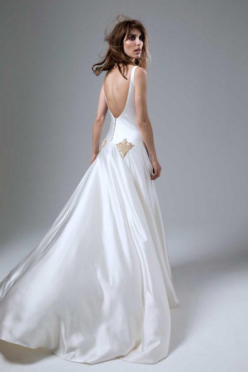 váy cưới đẹp kiểu cut out của Halfpenny London