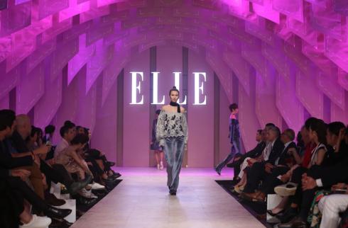 NTK Giao Linh tại ELLE Fashion Show 2016