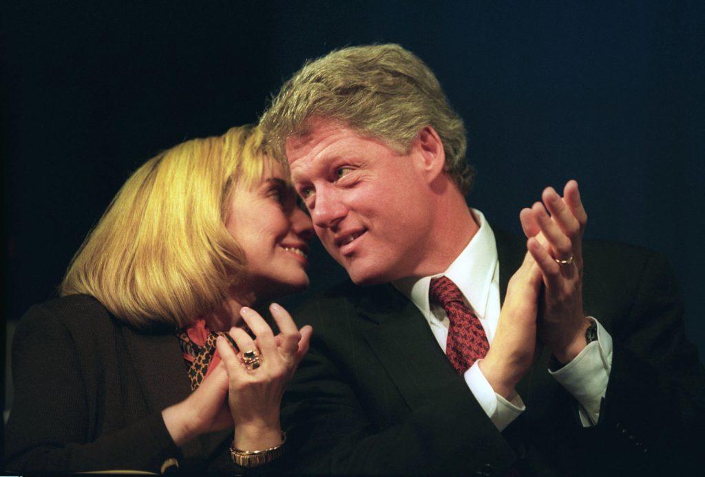 Hilary Clinton trên cương vị là Đệ nhất Phu nhân