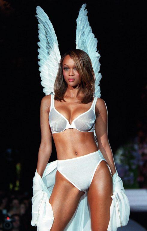 Siêu mẫu Tyra Banks - thiên thần Victoria's Secret ELLE VN