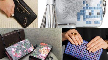 14 chiếc ví cầm tay nữ hàng hiệu được ưa chuộng nhất năm