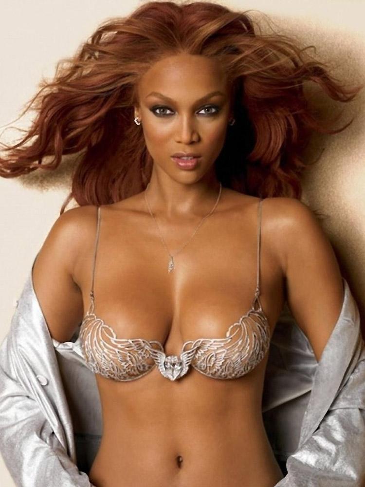 siêu mẫu Tyra Banks thiên thần Victoria's Secret ELLE VN