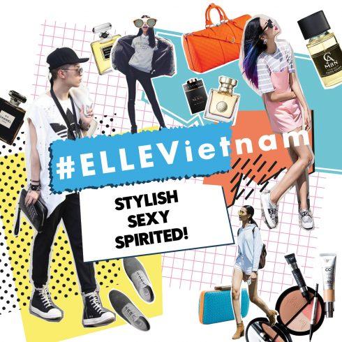 Hashtag ELLEVietnam Promotion