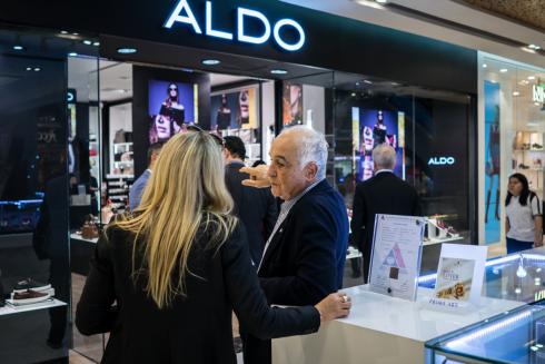 Ông Aldo tới thăm các cửa hàng Aldo tại Việt Nam
