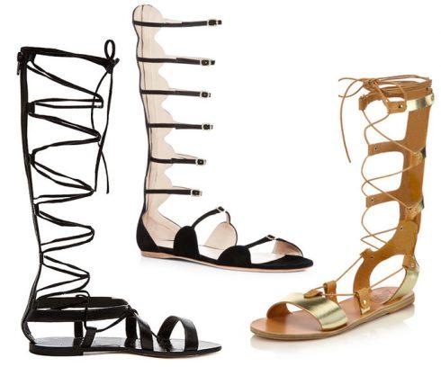 Mách bạn chọn các kiểu giày sandal nữ hot nhất hiện nay