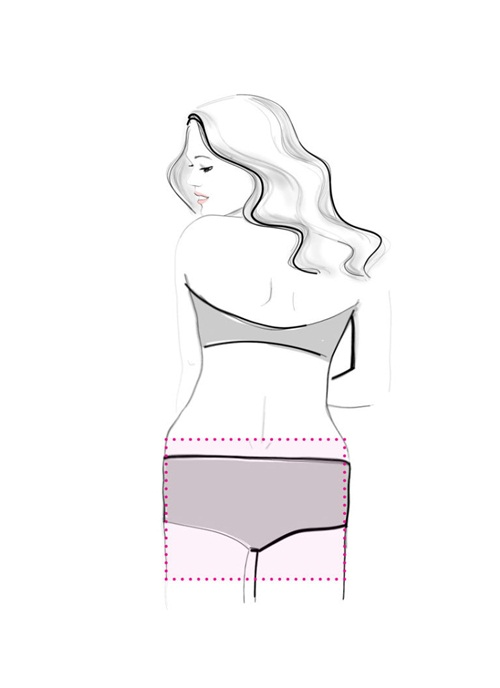 Cách chọn quần lót nữ đẹp theo dáng vòng 3 ELLE VN