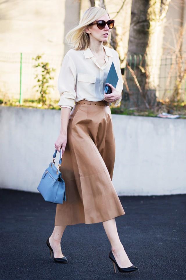 Phong cách thời trang đứng lớp của giáo viên - elle vn