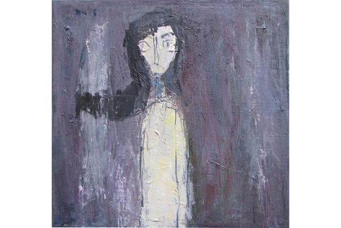 Bức tranh của họa sĩ Đinh Ý Nhi