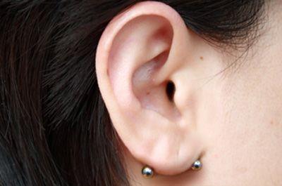 Xỏ lỗ đúp ngược - những vị trí xỏ lỗ tai được yêu thích elle vn