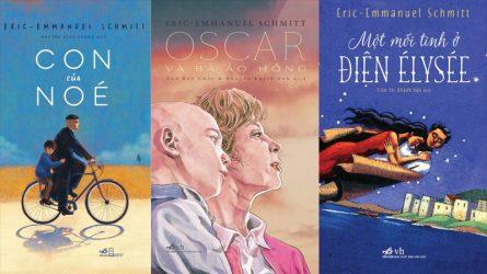 6 cuốn sách hay nên đọc của Eric-Emmanuel Schmitt