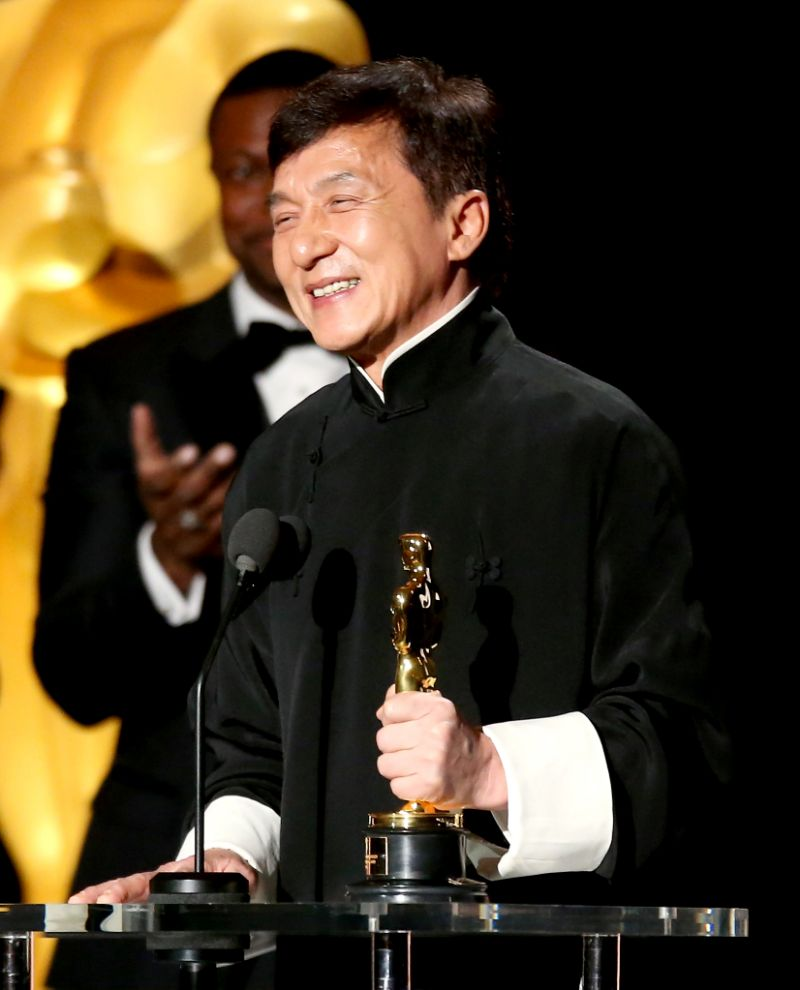 Thành Long đã đoạt giải Oscar sau hơn 50 năm cống hiến