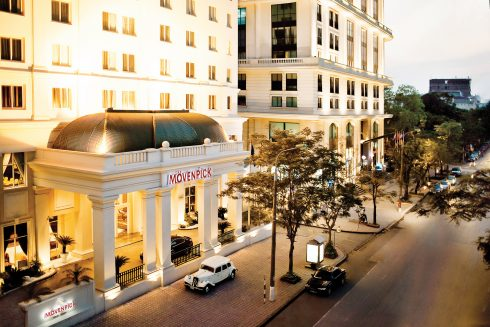 Khách sạn Mövenpick Hà Nội đạt danh hiệu khách sạn boutique sang trọng và tốt nhất khu vực Đông Nam Á.