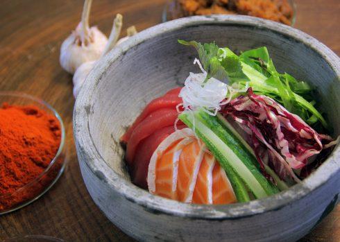 Hui Ddub Bab – món cá sống ăn cùng cơm.
