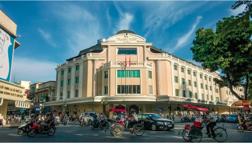 Tràng tiền plaza Hà nội - ELLE VN