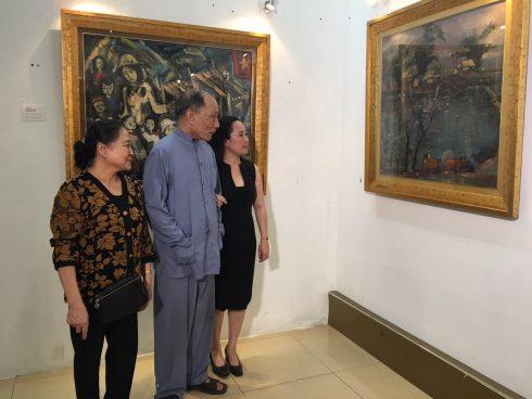 thời diễn ra từ 14 đến 20-11tại nhà triển lam45 Tràng Tiền Hà Nội