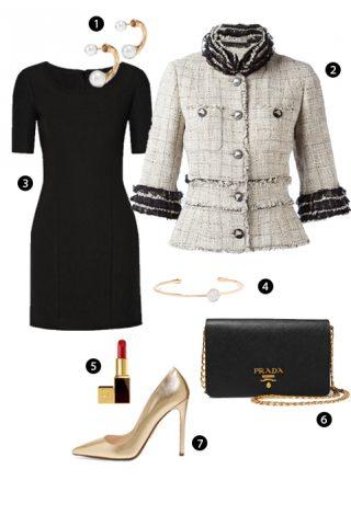 ELLE Style Calendar: Sang trọng với vải tweed (21/11 – 27/11)