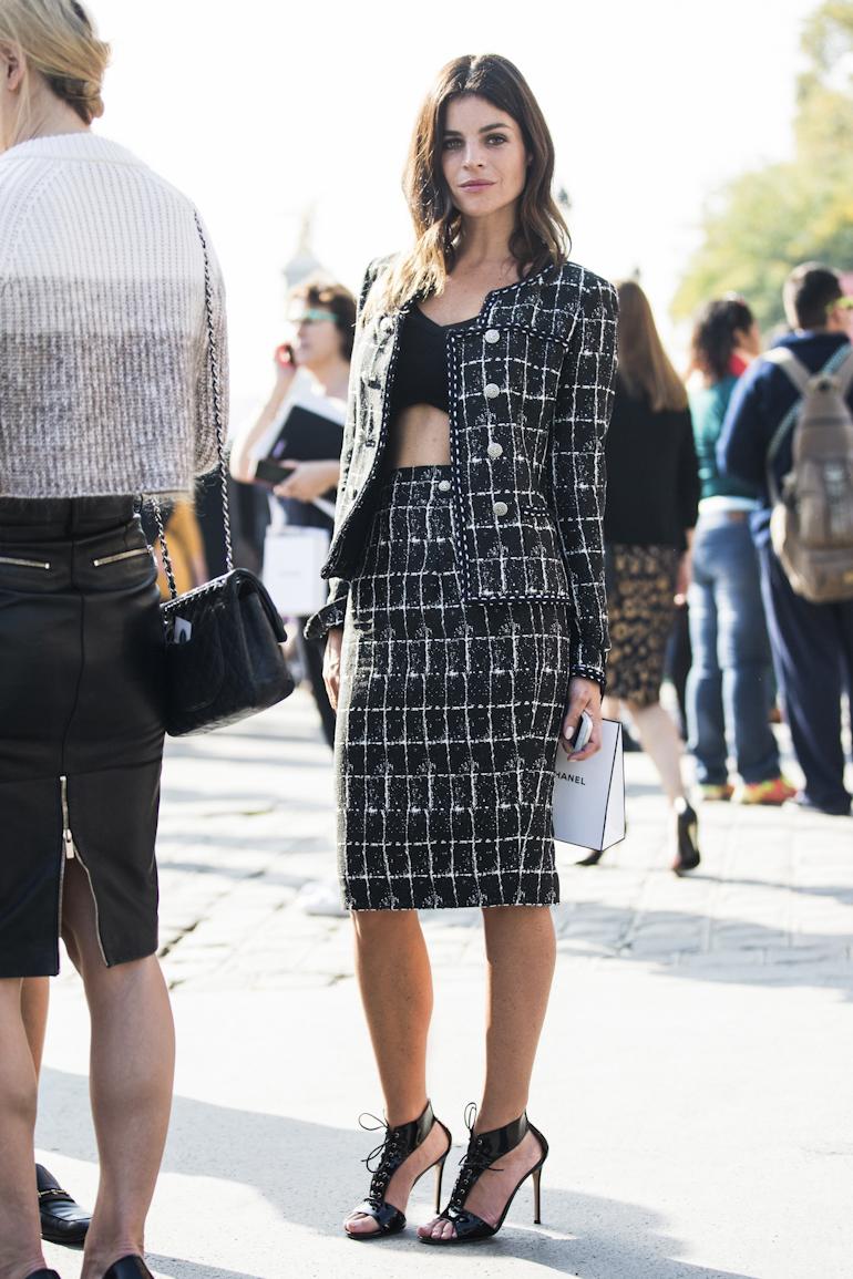 Vải tweed, chất liệu kinh điển trong mùa Thu-Đông: tuần lễ thời trang