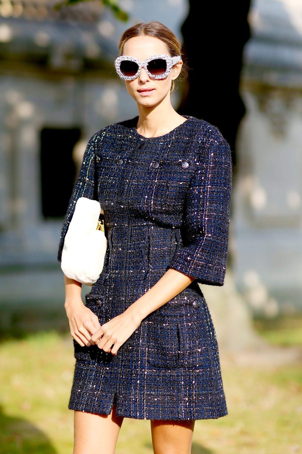 Vải tweed, chất liệu kinh điển trong mùa Thu-Đông: đầm nữ đẹp