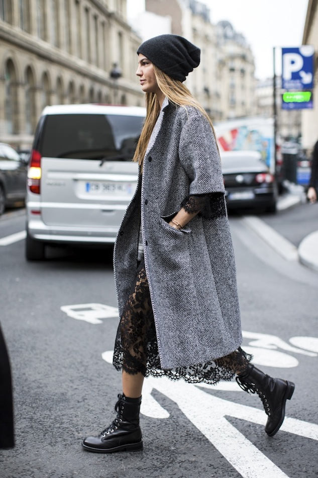 Vải tweed, chất liệu kinh điển trong mùa Thu-Đông: áo khoác nữ đẹp