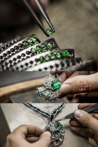 Sắc xanh mê hoặc trong BST nữ trang của Archi Dior