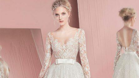 10 mẫu váy cưới đẹp như mơ của Xuân-Hè 2017