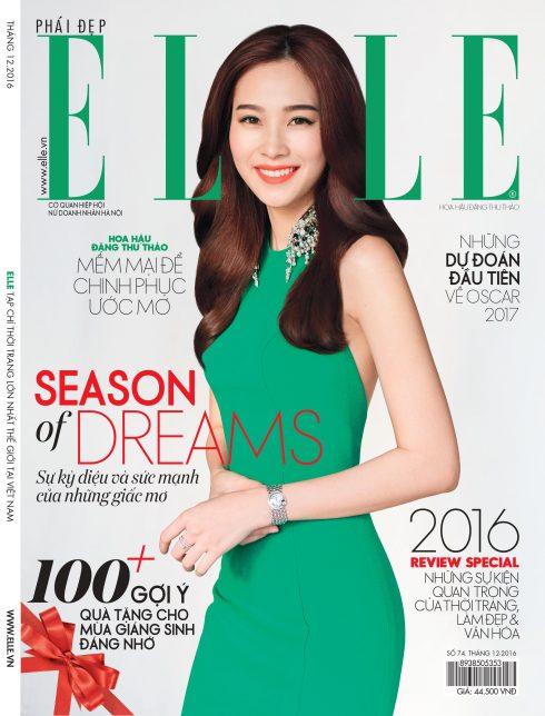 ELLE tháng 12/2016 - Season of dreams - Đặng Thu Thảo