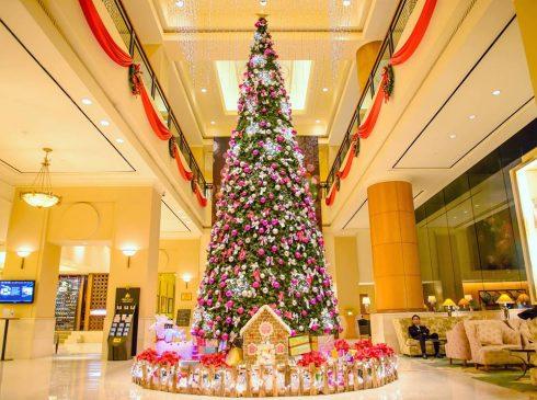 Lễ hội thắp sáng cây thông Noel luôn được mong chờ mỗi dịp Giáng sinh.