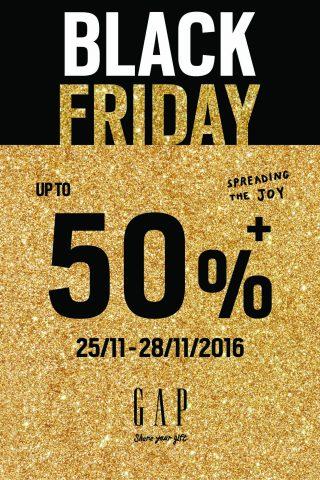 Ngày hội mua sắm Black Friday 25/11/2016 - 27/11/2016
