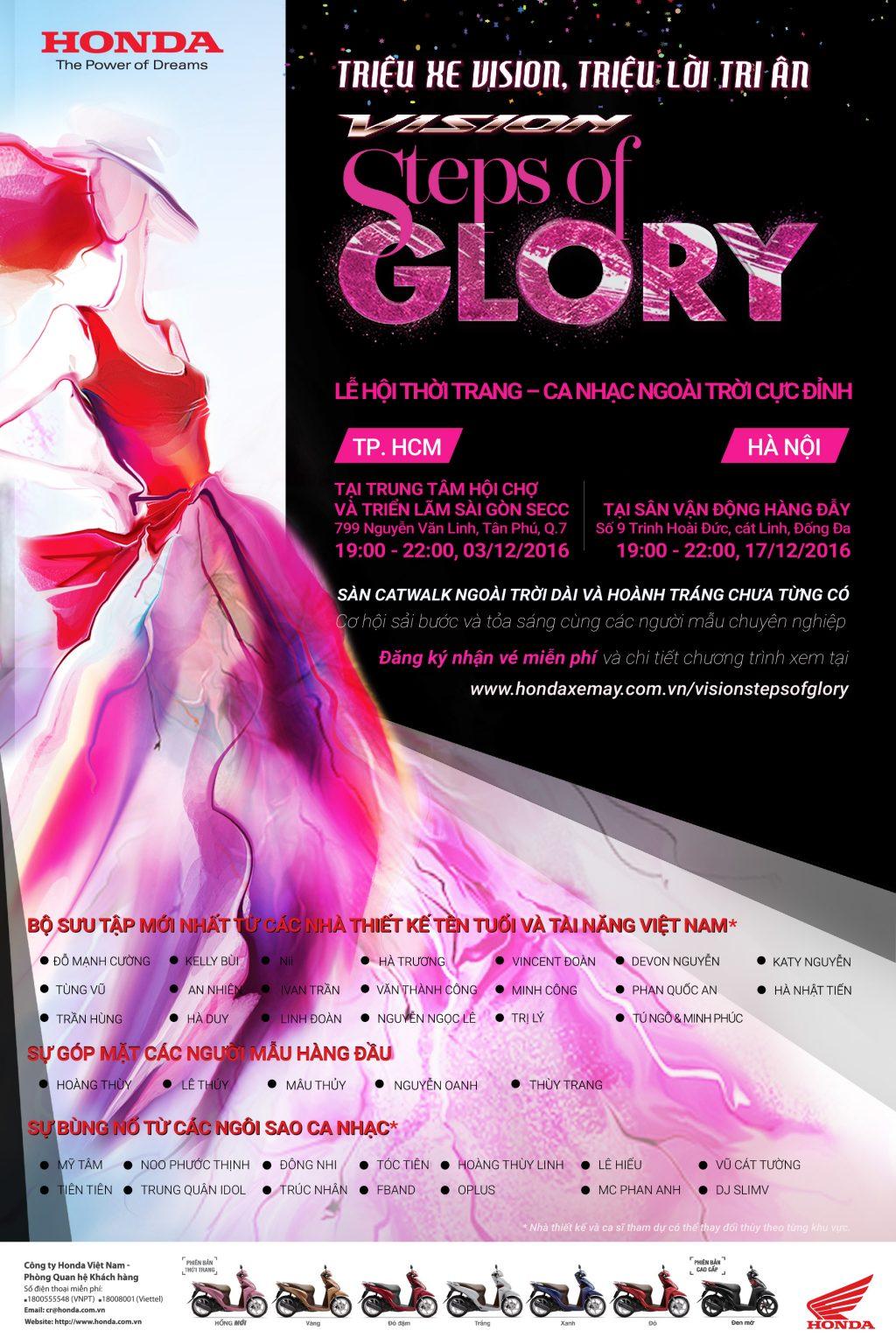Sự kiện thời trang và âm nhạc ngoài trời VISION - Step of Glory - 07