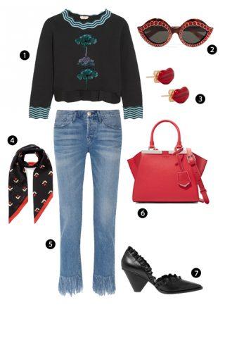 ELLE Style Calendar: Áo sweatshirt năng động (28/11 - 04/12)
