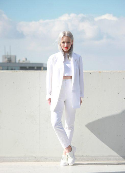 Gu thời trang trong sáng của nàng thơ Ivania Carpio