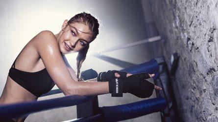 Gigi Hadid khoe kỹ năng kickboxing chuyên nghiệp