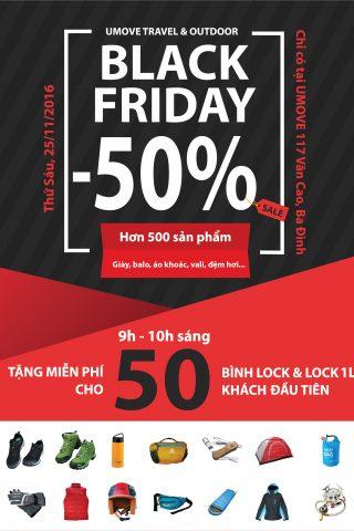 Ngày hội giảm giá đặc biệt Black Friday 2016 tại Hà Nội