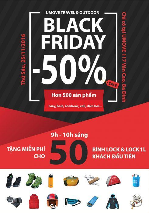 Ngày hội giảm giá đặc biệt Black Friday 2016