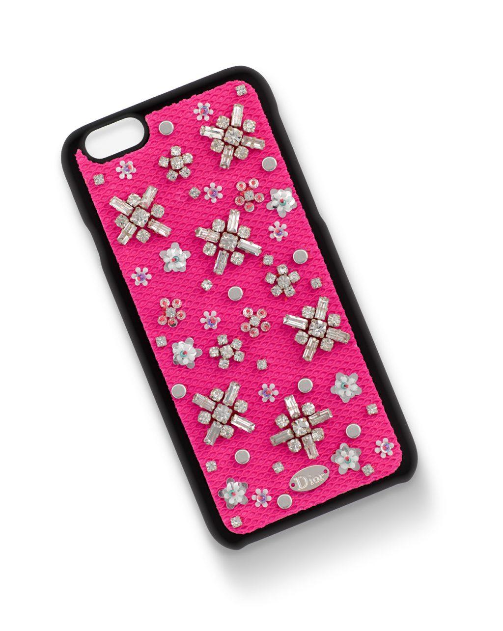Ốp Case iphone của các hãng thời trang Dior stardust case- elle vn