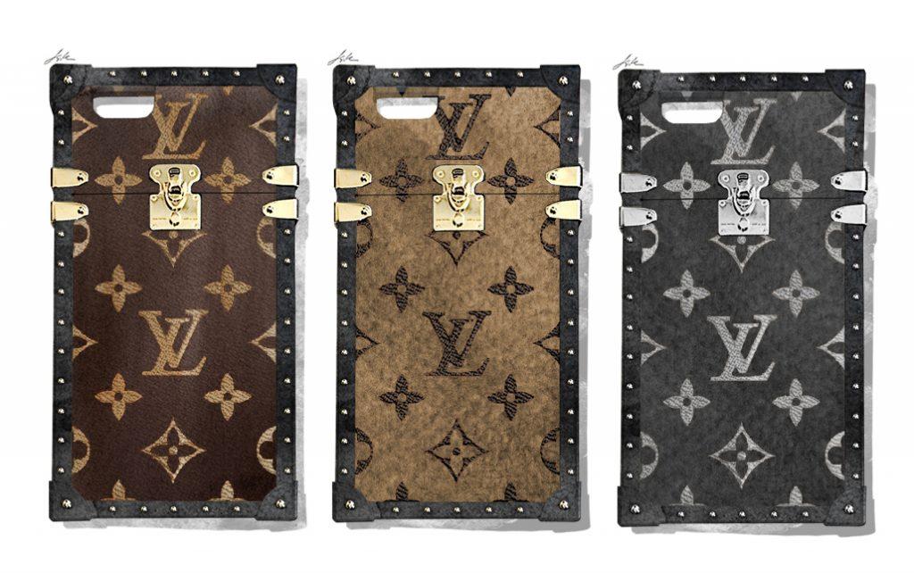 Ốp Case iphone của các hãng thời trang Petit Malle Louis Vuitton case - elle vn