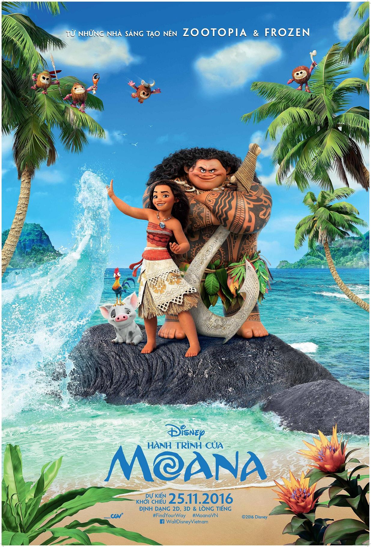Phim hoạt hình Moana: Thêm một tuyệt tác từ Disney