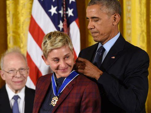 Cuộc đời nhiều nước mắt của MC đồng tính Ellen DeGeneres