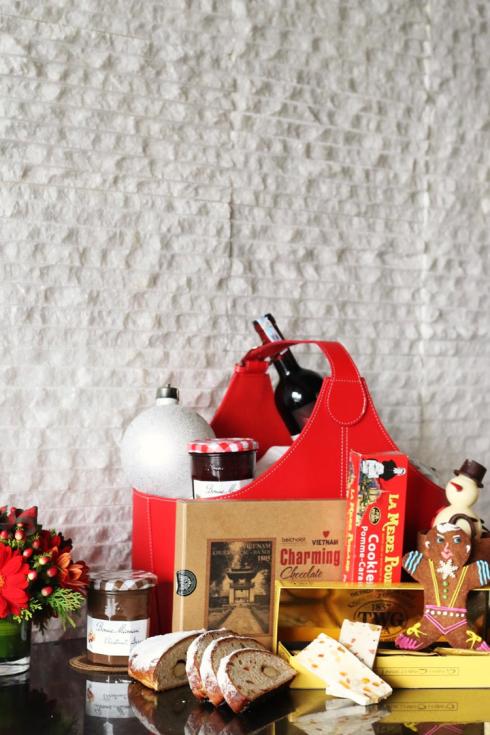 Giỏ quà cao cấp của JW Christmas.